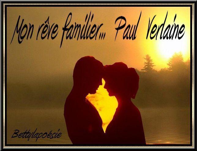 Mon rêve familier  de  PAUL  VERLAINE